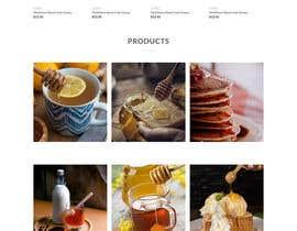 #69 cho Design a webpage for honey product bởi tarunr93