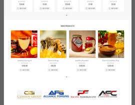 #12 cho Design a webpage for honey product bởi mstsurminakter
