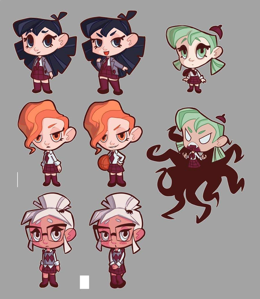Penyertaan Peraduan #                                        48                                      untuk                                         We need the best\cutest\funnest Chibi character art for a children's cartoon based on mythological characters in modern day.