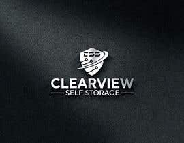 #199 for LOGO DESIGNER- Clearview Self Storage af designburi0420