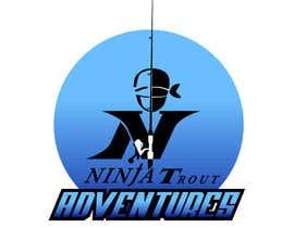Nro 68 kilpailuun Design A Logo Contest For Ninja Trout Adventures käyttäjältä Ajala77