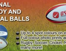 Nro 18 kilpailuun Sports Balls Banner käyttäjältä qronaldo7