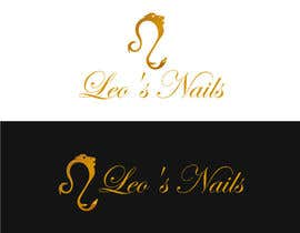 #34 for Design me a logo and banner for Leo's Nails by nobindesigner