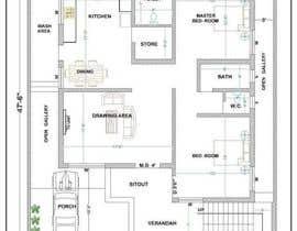 #5 untuk duplex house planning oleh salim372519