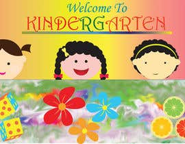 #6 for Design a Banner for Kindergarten by kvd05
