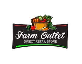 "cyberlenstudio tarafından Contest - Logo for retail store ""Farm Outlet"" için no 95"