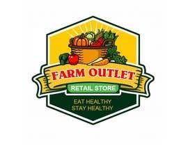 """nº 160 pour Contest - Logo for retail store """"Farm Outlet"""" par cyberlenstudio"""