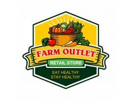 "cyberlenstudio tarafından Contest - Logo for retail store ""Farm Outlet"" için no 160"