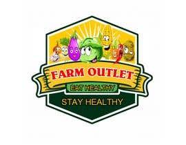 """nº 170 pour Contest - Logo for retail store """"Farm Outlet"""" par cyberlenstudio"""