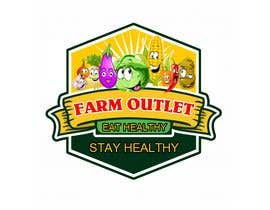 "cyberlenstudio tarafından Contest - Logo for retail store ""Farm Outlet"" için no 170"