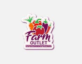 "Alisa1366 tarafından Contest - Logo for retail store ""Farm Outlet"" için no 162"