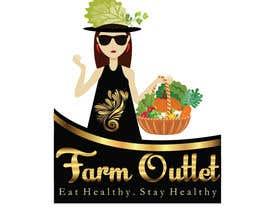"""#178 para Contest - Logo for retail store """"Farm Outlet"""" de GraphicEra99"""