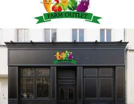 "AmzaliAbdelali tarafından Contest - Logo for retail store ""Farm Outlet"" için no 60"