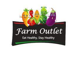 "AmzaliAbdelali tarafından Contest - Logo for retail store ""Farm Outlet"" için no 155"