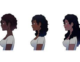 #11 for Create Illustration for different Hairlengths by xodorcoo