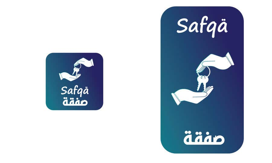 Bài tham dự cuộc thi #                                        53                                      cho                                         ARABIC APP ICON AND SPLASH PAGE DESIGN iOS and Android