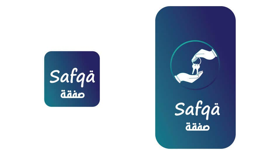 Bài tham dự cuộc thi #                                        54                                      cho                                         ARABIC APP ICON AND SPLASH PAGE DESIGN iOS and Android