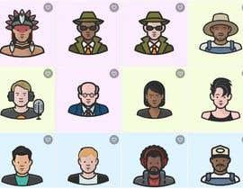 Nro 2 kilpailuun Design 30 avatars in vector format for design work käyttäjältä jamhdesing