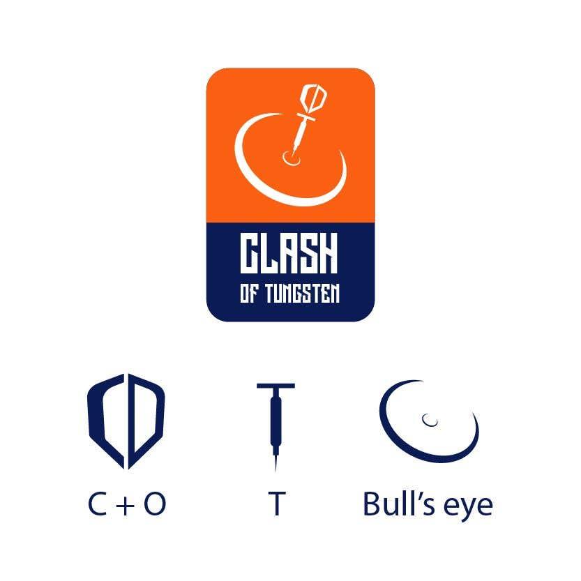 Kilpailutyö #                                        22                                      kilpailussa                                         Logo For A Darts Related Youtube Channel