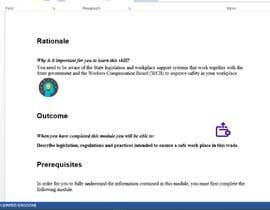 #6 untuk Enter Text and Graphics into Module Template oleh aajnet2