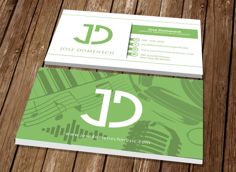 Contest Entry #88 for Logo Design and Business Card Musician
