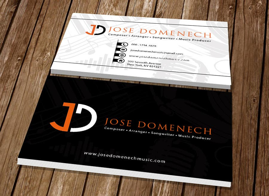 Contest Entry #95 for Logo Design and Business Card Musician