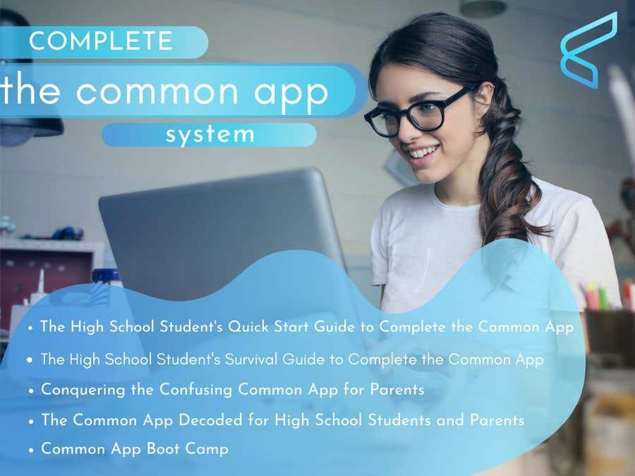 Kilpailutyö #                                        36                                      kilpailussa                                         eCover - Complete the Common App System