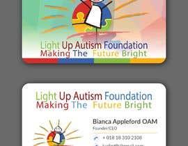 NAYEM1996 tarafından Buisness card for Light Up Autism Foundation için no 632