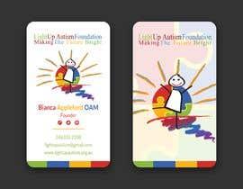 jahid0011 tarafından Buisness card for Light Up Autism Foundation için no 625