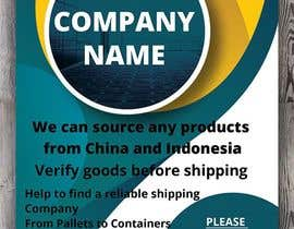 Dmdesign16 tarafından create a flyer for logistic services için no 31