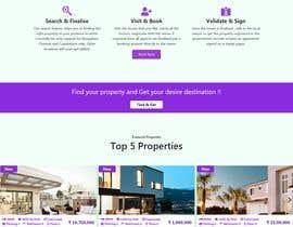 Nro 36 kilpailuun New design for home page (no back-end code change) käyttäjältä habibfoysal
