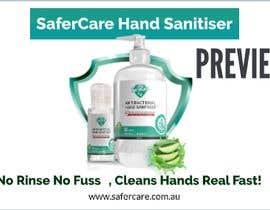 Nro 7 kilpailuun Animation 15 seconds showing benefits of using hand sanitizer käyttäjältä chathudesign
