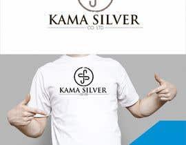 Nro 33 kilpailuun Kama silver logo design. I need a logo with lotus in it. For my website. I am a wholesaler of silver jewellery. Need for my website käyttäjältä Mukhlisiyn
