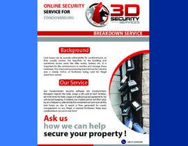 #136 for Flyer for online security service for condominiums by mdrajib676