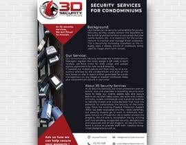 #141 for Flyer for online security service for condominiums by mdjahidul306