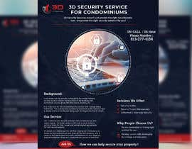 #154 for Flyer for online security service for condominiums by ihr1478