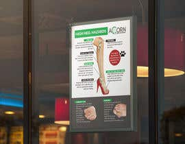 #67 for Podiatry window posters by fjahanmun