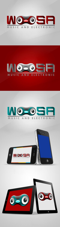 Kilpailutyö #                                        18                                      kilpailussa                                         Logo Design for wOOsa