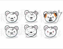 #8 for Design a cartoon character: cute metalhead polar bear by RafaelMaya