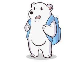 #45 for Design a cartoon character: cute metalhead polar bear by BlackJeruk