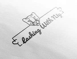 #64 untuk Logo for a business called: Lashing With Niy oleh mohabmostafa
