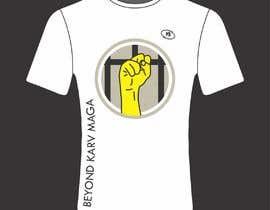 Nro 16 kilpailuun Design my T-shirt for Beyond Karv Maga käyttäjältä deeptouch