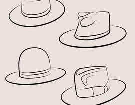 Nro 12 kilpailuun Simple Hat Sketches käyttäjältä milless10