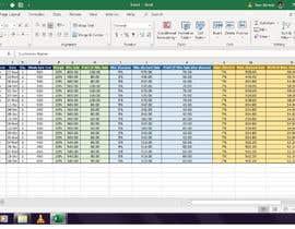 #75 untuk Excel sheet accountance plus data entry . oleh Andalibzehraa