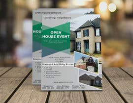 #13 для Create an open house flyer.  I attached the information and layout I want.  I also attached the 3 pictured I would like to use as well. от belalabedin94