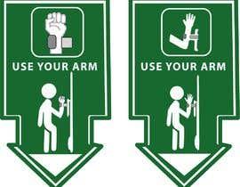 #24 для hand free arm puller door sign от Komal006