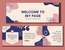 #17 for Social media graphic designed templates x 4 by angelgummy
