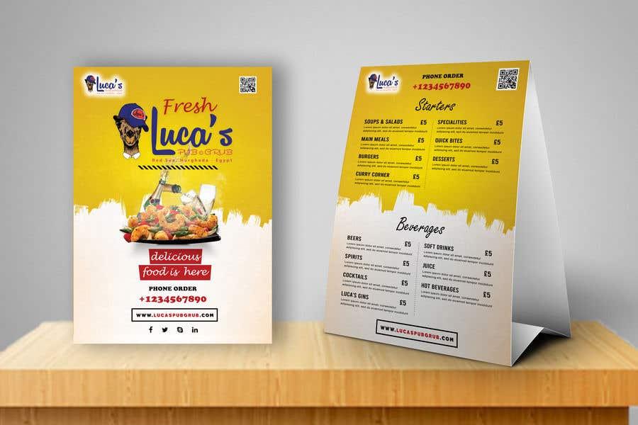 Bài tham dự cuộc thi #                                        18                                      cho                                         Design me an editable Sports Pub Food Menu