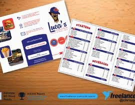 #24 cho Design me an editable Sports Pub Food Menu bởi chrisquim