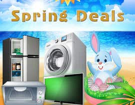 #21 for Design an email Flyer for Easter Kitchen/Laundry Appliances by imranwebdesigner